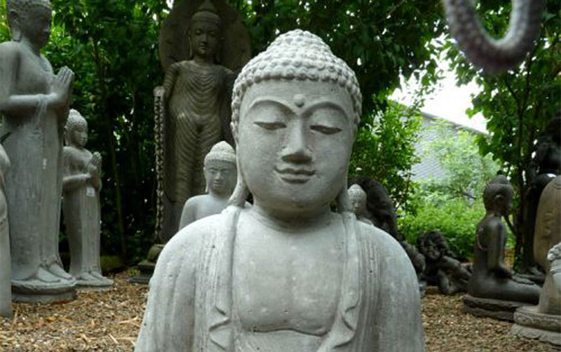 Buddhafiguren für ein Asiatisches Lebensgefühl.   artvendis.de