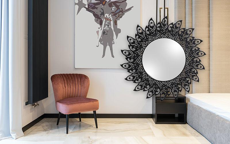 Mit Spiegeln den Raum größer wirken lassen | artvendis.de